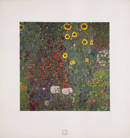 Gustav Klimt, 'Sunflowers [Gustav Klimt An Aftermath]', 1931
