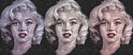 Robert Silvers, 'Triple Marilyn', 2009