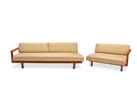 Martin Borenstein, 'Two Martin Borenstein modern articulating daybeds/sofas'