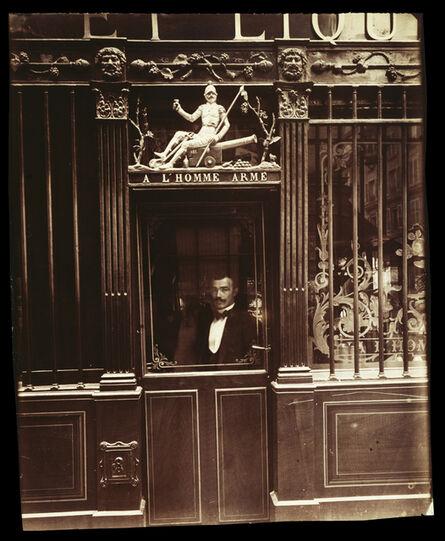 Eugène Atget, '25, Rue des Blancs Manteaux (Caf', rue des Blancs Manteaux)', 1900