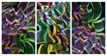 Arturo Aguiar, 'Light form 6221, triptych', 2020