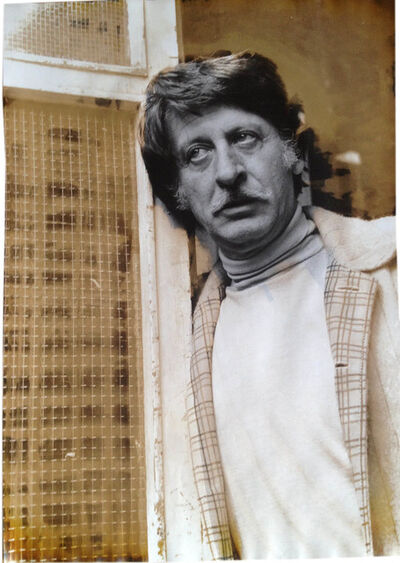 Ute Schendel, 'George Tabori (Photo taken Berlin 1969, sulfur toning Frankfurt am Main 1983), Vintage', 1969