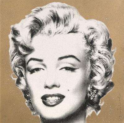 "Mr. Brainwash, '""Diamond Girl"" (Marilyn Monroe Gold)', 2016"