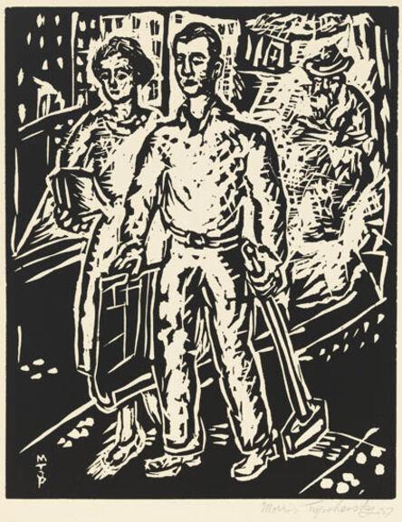 Morris Topchevsky, 'To a New Life, from the portfolio A Gift to Biro-Bidjan', 1937