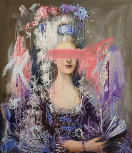 Mandy Racine, 'Marie in Blue', 2020