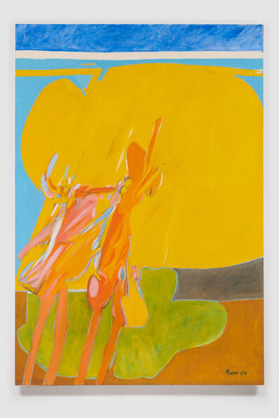 James Moore, 'Untitled I (Yellow Blue Green)', 1976