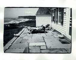 Andy Warhol, 'Halston at the Beach House', 1982