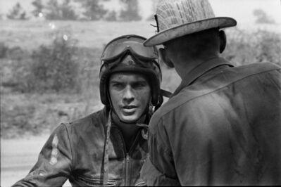 Danny Lyon, 'Racer, Griffin, Georgia, The Bikeriders Portfolio', 1964