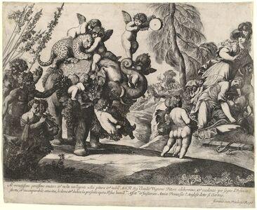 Pierre Brebiette, 'Bacchus with Diana and Minerva'