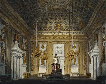 Richard Cattermole, 'Kensington Palace: The Cupola Room', ca. 1817