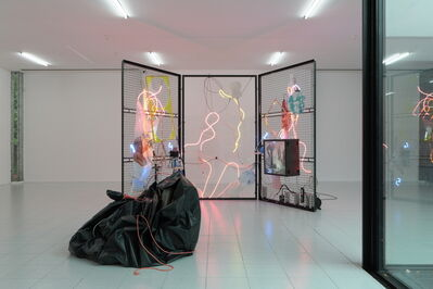 Joris Van de Moortel, 'A Sunday Mess; De 7 sacramenten (glas, vuur, wit, was, rook, natuur, vandaal)', 2017