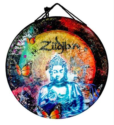 RISK, 'Peaceful Buddha Zildjian Gong', 2021