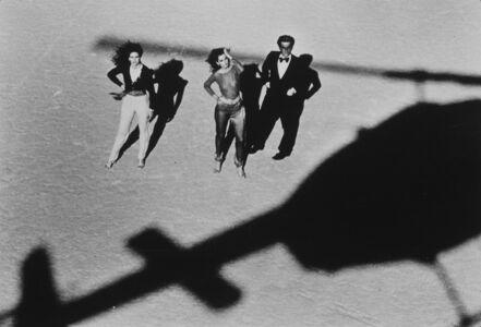 Chris von Wangenheim, 'Gia Carangi, Donna Sexton, and Matt Collins, California Desert, VOGUE', 1979