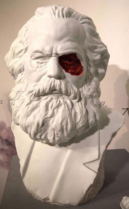 Lázaro Saavedra, 'Marx's sculpture', 2013