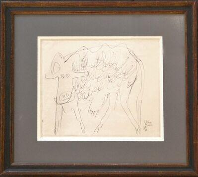 Jean Dubuffet, 'Vache III', 1954