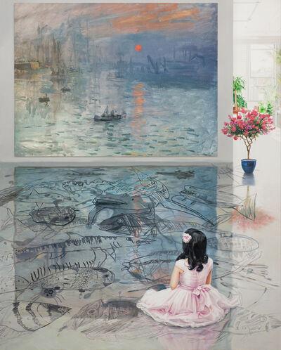 Bae Joon Sung, 'The Costume of Painter - at the studio- sea 1', 2020