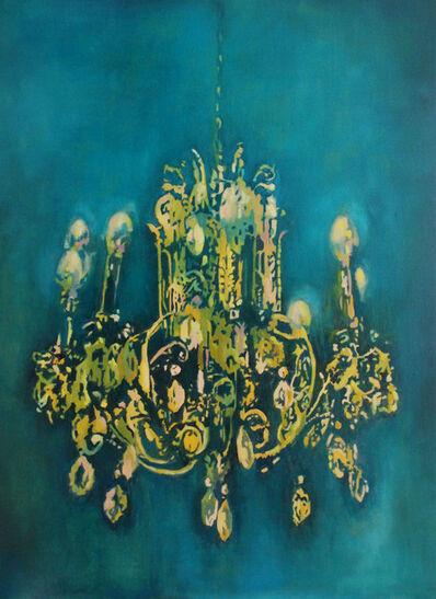 Annette Pugh, 'Chandelier, Turquoise Blue Deep', 2018