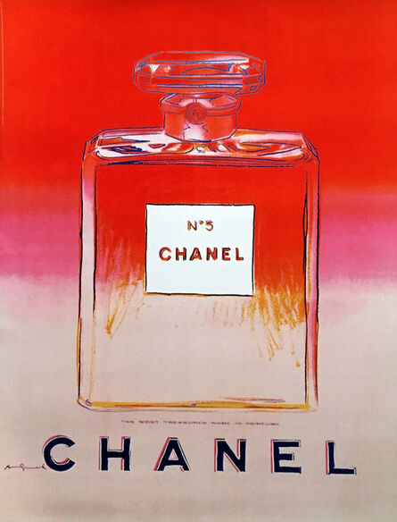 Andy Warhol, 'Chanel No. 5 Advertising Campaign Poster (after Andy Warhol) ', 1997