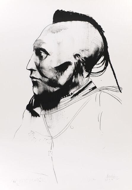 Leonard Baskin, 'White Horse', 1972