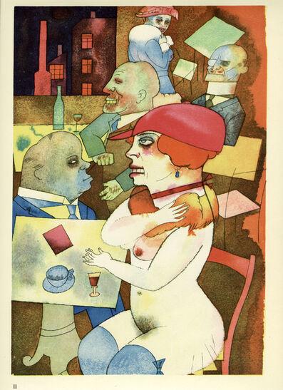 George Grosz, 'Schönheit, dich will ich preisen (1920)', 1923