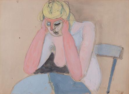 Jean Hélion, 'Femme acoudée', 1946