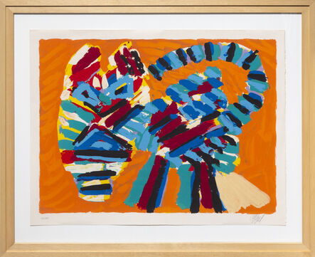 Karel Appel, 'Sunshine Cat from the Cats Portfolio', 1978