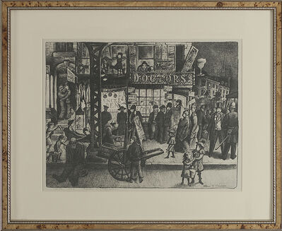 "Glenn O. Coleman, '""Third Avenue""', 1928"