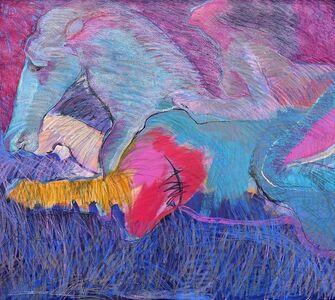 Harriette Joffe, 'Blue Horse Red', 1984