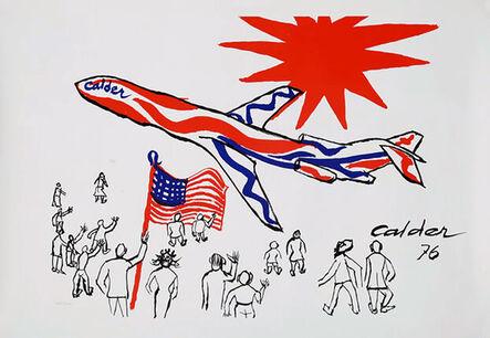 Alexander Calder, 'Alexander Calder Braniff Airlines poster 1976', 1976