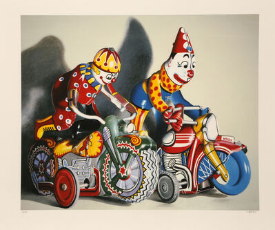 Charles Bell, 'Hot Pursuit', ca. 1990