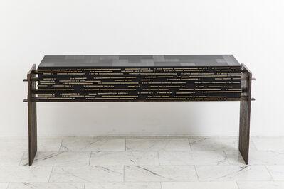 Jean-Luc Le Mounier, 'Filigrane Console', 2014