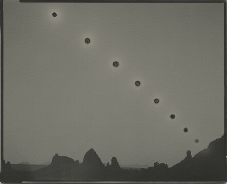Chris McCaw, 'Sunburned GSP#1031 (Mojave/expanding)', 2019