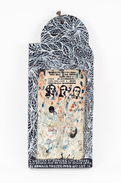 Howard Finster, 'Cluster of Emaces Like Colors', Numbered 1000 and 639