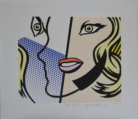 Roy Lichtenstein, 'Untitled Head', 1995