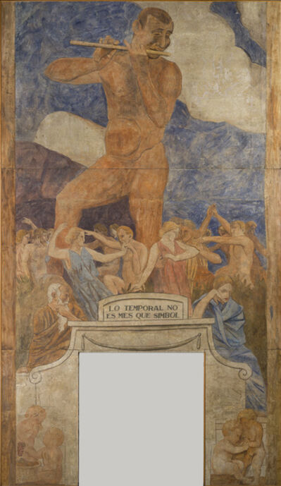 Joaquín Torres-García, 'Lo temporal no és més que símbol (The temporal is no more than symbol)', 1916