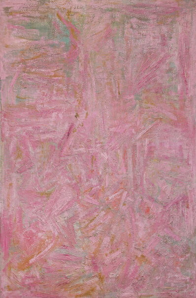 Ben Isquith, 'Pink Painting', 1953