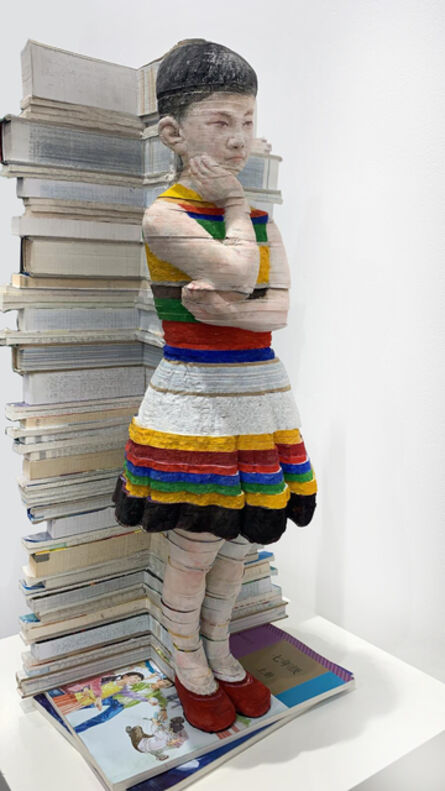 Li Hongbo 李洪波, 'Textbooks – Girl《教科書系列 – 女孩》 ', 2019