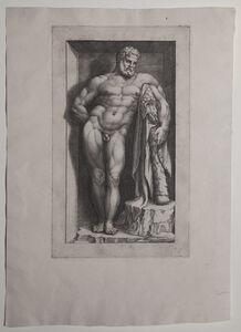 Giorgio Ghisi, 'The Farnese Hercules', ca. 1570s