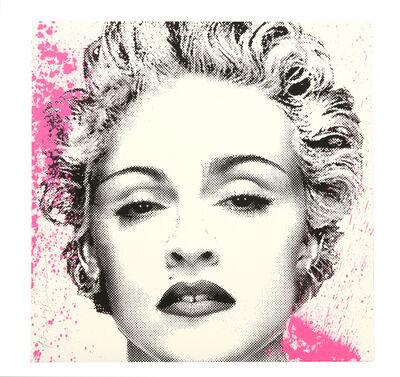 Mr. Brainwash, 'Happy B-Day Madonna (Silver)', 2017