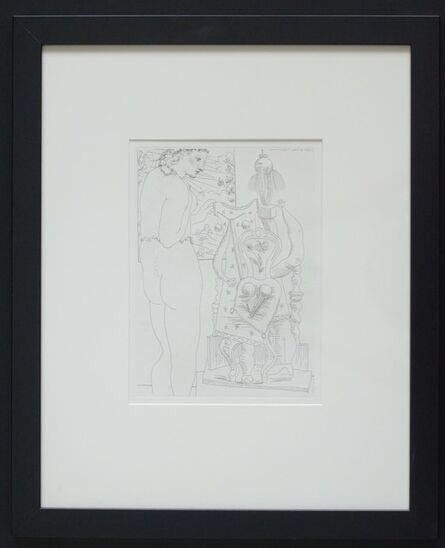 Pablo Picasso, 'Marie Therese considerant son Effigie surrealiste sculptee', 1933