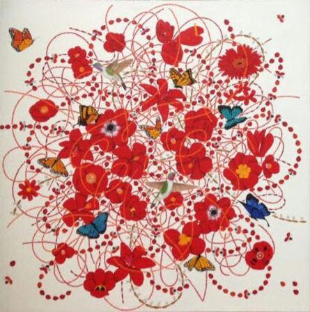 Hyunhee IM, ' A Thousand Flowers', 2015