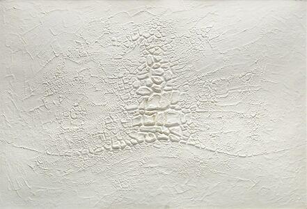 Alberto Burri, 'Cretto bianco', 1971