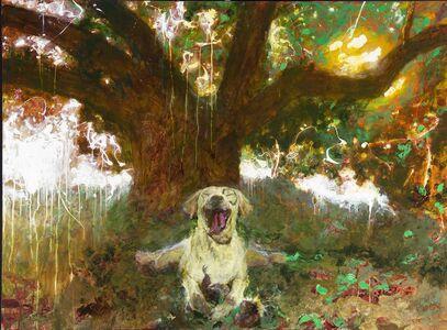 Jamie Wyeth, 'Kleberg: Squirreling', 2018