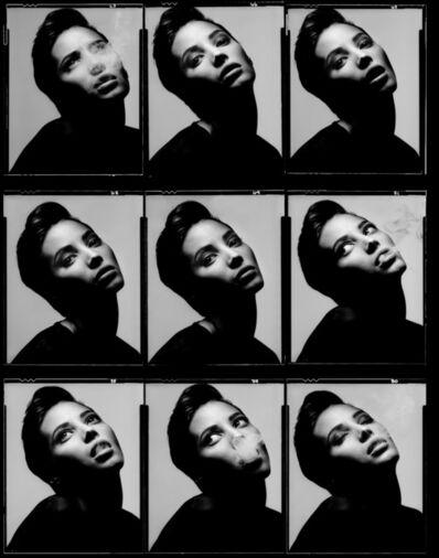 Albert Watson, 'Christy Turlington, New York City, 1990, 'Contact'', 1990-Printed 2020