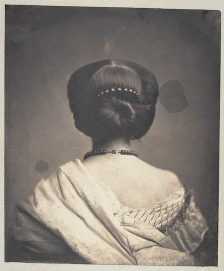 Onésipe Aguado, '[Woman Seen from the Back]', ca. 1862