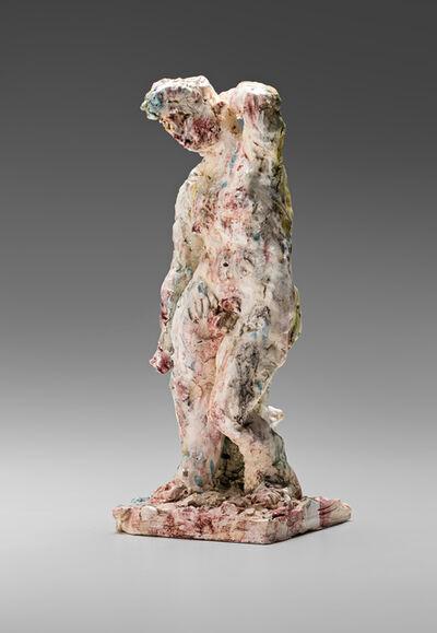 Stephen Benwell, 'Statue (arm raised)', 2015