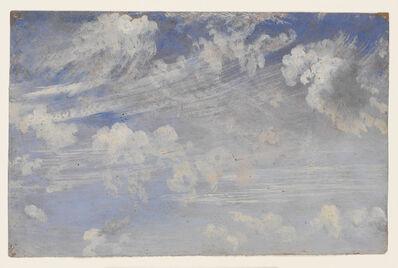John Constable, 'Study of cirrus clouds', ca. 1821-1822