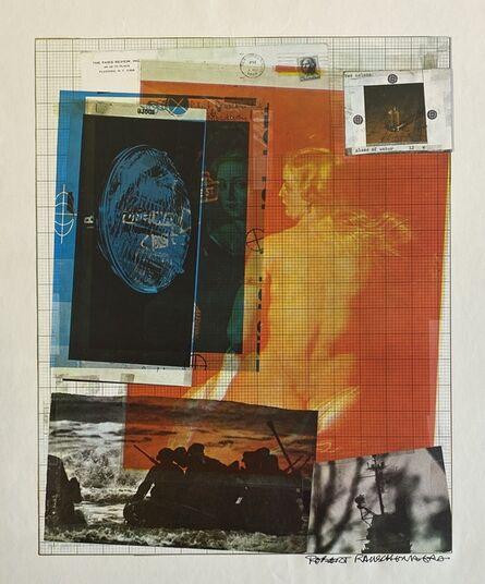 Robert Rauschenberg, 'Paris Review', 1965