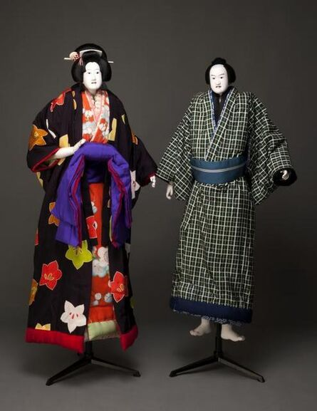 'The courtesan Ohatsu and the young man Tokubei', 19th century