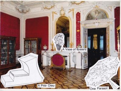 Marc Camille Chaimowicz, 'Photomontage no. 2 for The Hermitage, room 305', 2014